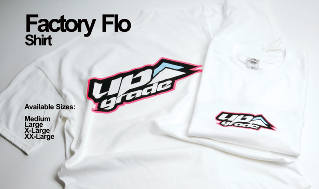 UPG2015M UPLOGO FACTORY FLO Tシャツ ホワイト(M)