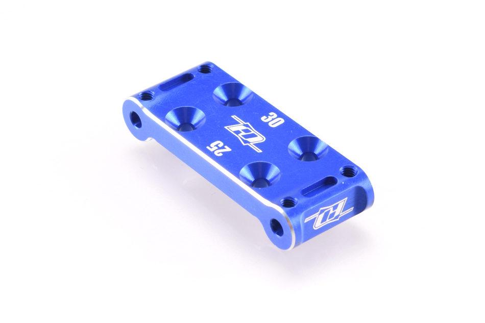 RDRP0292-BLU アソシB6.1/B6用アルミ製フロントバルクヘッド・ブルー