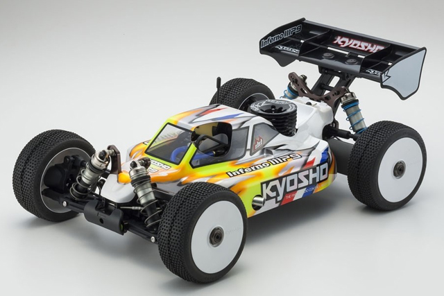 KYOSHO MP10/MP9/GT3用パーツ