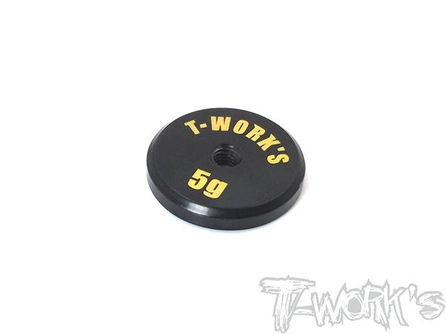 TA-066L 低重心バランシングウエイト【5g/真鍮製】