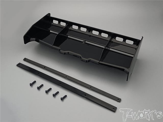 TO-308-B エアーフロー1/8GPバギー用ウイング【ブラック】