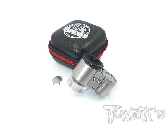 TT-057-T ターボプラグ用ルーペ【50倍率/LEDライト付】